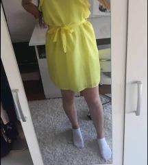 Žuta ljetnja haljinica S PT!!