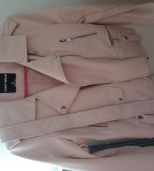 Roza kozna jakna