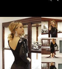 Crna gala haljina