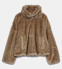 Nenosena Zara krznena bunda M uklj slanje