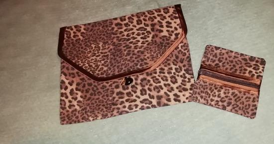 Platnena rucna torbica i mini torbica/novcanik