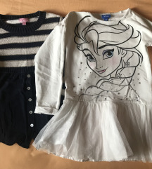 Haljinica i džemper-košulja