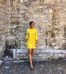 Žuta Zara haljina S