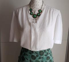 Etno bijela bluza