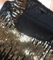 AMISU šljokasta sequin suknja/ haljina