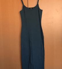 MISSGUIDED Plava duga midi haljina