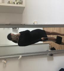 Zara haljina crno srebrne šljokice