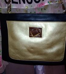 Nova zlatno crna torba