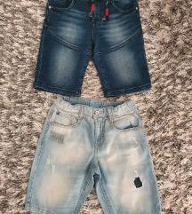 Zara&Benetton jeans bermude
