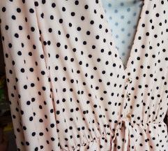 NOVA ZARA like točkasta haljina
