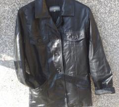 TURNER crna jakna /sako od prave kože