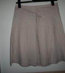 MORGAN bež nova suknja vel.40