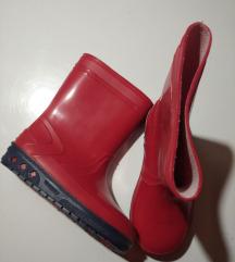 Nove crvene gumene čizme 26,unisex