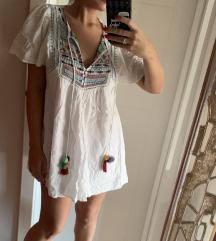 Zara bohoo haljina