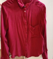 Bershka crvena košulja