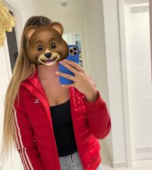 ADIDAS crvena slim jakna