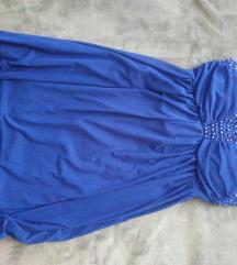 Plava svečana haljina  PRODAJA/ZAMJENA