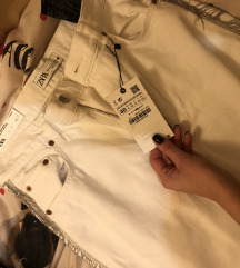 ZARA jeans hlace visokog struka novo s etiketom
