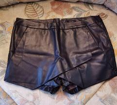 Kožne suknja hlače Amisu 42