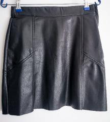 H&M faux leather