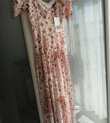 Nova patchwork Zara haljina s etiketom XS