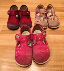 Papuče za djevojčice 22, 24, 25