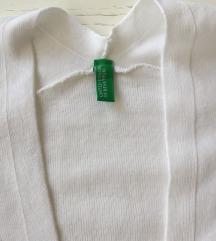 NOVO!! Benetton bijeli bolero