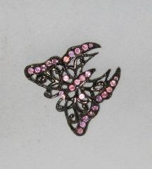 broš leptir vintage