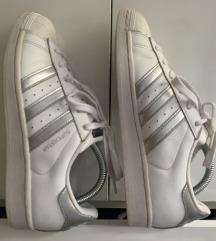 Adidas Superstar srebrne