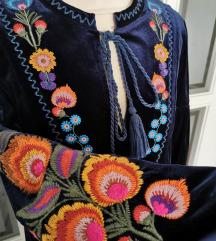 Zara tunika/haljina baršun