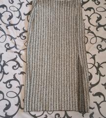 Suknja sa srebrnim nitima