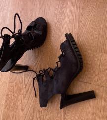 Nove crne sandale