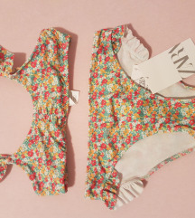Novo! Zara bikini/kupaći kostim 8/9y (130)
