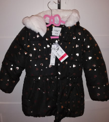 Zimska jakna djevojčice