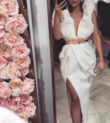 duga puf haljina