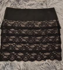 Orsay suknja od čipke vel. 36