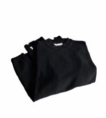 Zara softspun majica s perlama (164) - NENOŠENA