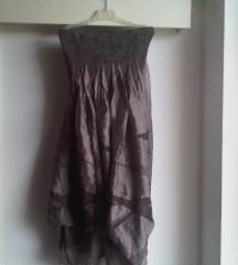 Duga podesiva lagana suknja visoki struk