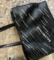 Balenciaga logo shopper (Leather) bag