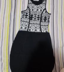 Crno/bijela haljina