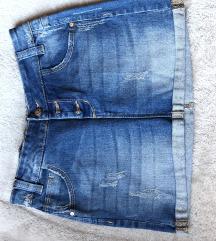 OVS suknja traper, novo