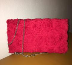 Crvena h&m torbica na latice
