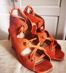 Asos koraljne sandale, vel 38