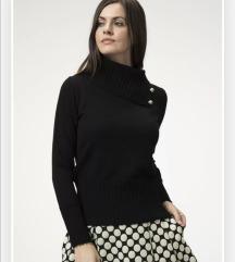 Varteks crni pulover