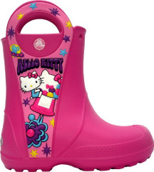 CROCS Hello Kitty candy blast čizme za kišu, 23