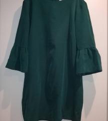 Reserved smaragdna haljina
