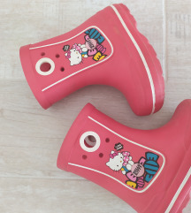 CROCS HANDLE IT RAIN BOOT HELLO KITTY  *15cm