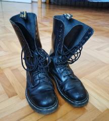Visoke crne čizme (original marte)