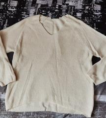 NOVI krem pulover
