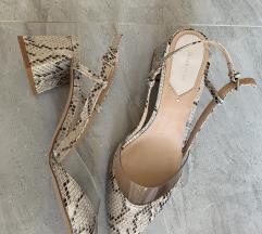 Stradivarius cipele s blok petom